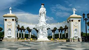 Bilder Venezuela Engeln Denkmal Monument Of The Virgin, Maracaibo