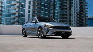 Hintergrundbilder KIA Metallisch K5 EX North America, 2020 auto