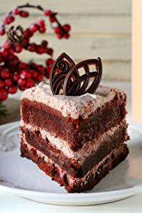 Fotos Törtchen Süßigkeiten Torte Teller Stücke Lebensmittel