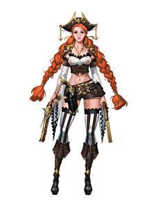 Hintergrundbilder Krieger Pistolen Piraten Weißer hintergrund Zopf Rotschopf Der Hut Hübscher Stiefel ilsu jang Tricorne Fantasy