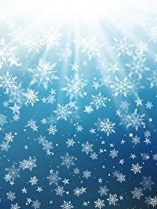 壁纸、、テクスチャー、新年、雪の結晶、