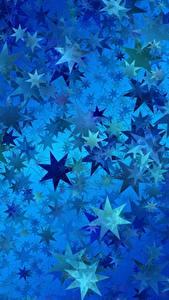 Hintergrundbilder Textur Kleine Sterne Blau