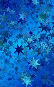 Hintergrundbilder Textur Stern-Dekoration Blau
