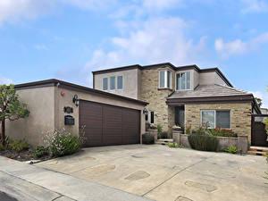Bilder USA Haus Kalifornien Herrenhaus Design Garage Colima Bay Dana Point Städte