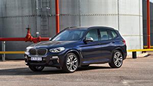 Fondos de Pantalla BMW Azul Metálico Crossover 2019 X3 M40d autos