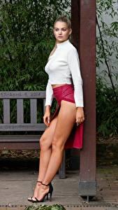 Hintergrundbilder Bein Hübsche Posiert Mädchens