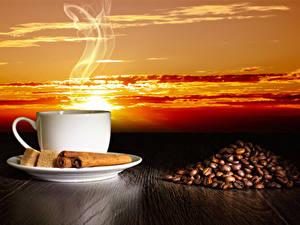 Pictures Coffee Cinnamon Cup Grain Sugar Vapor
