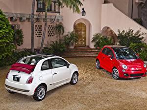 Bilder Fiat 2 Metallisch 2007-19 500 Autos