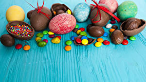 Bilder Ostern Süßware Schokolade Bonbon Ei