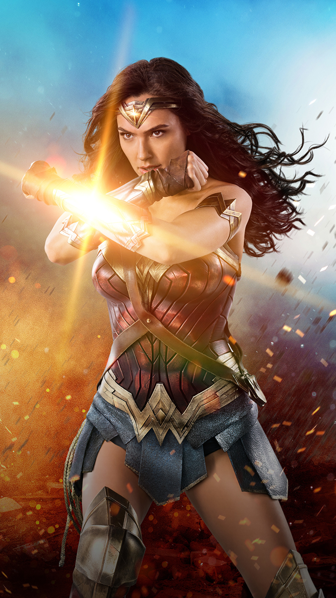 Image Wonder Woman 2017 Film Gal Gadot Wonder Woman Hero 1080x1920