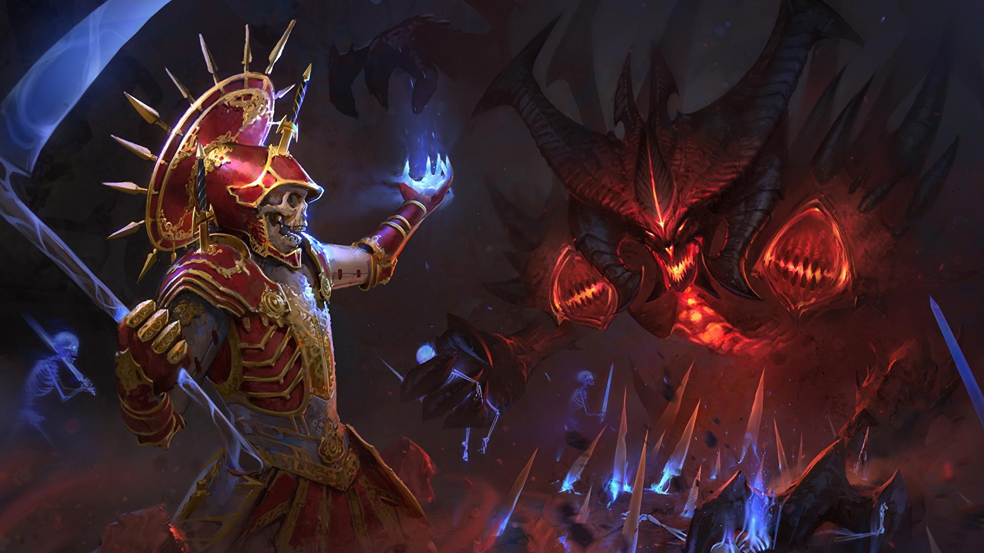 Papeis de parede Demônios Guerreiro Heroes of the Storm