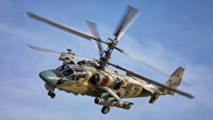 Image Helicopters Russian Flight Ka-52 Alligator Aviation