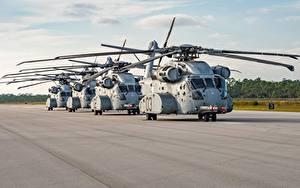 Hintergrundbilder Hubschrauber Amerikanische Sikorsky, CH-53K Luftfahrt