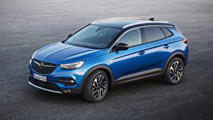 Bilder Opel Hellblau Metallisch 2017-18 Grandland X auto