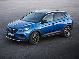 Bilder Opel Hellblau Metallisch 2017-18 Grandland X