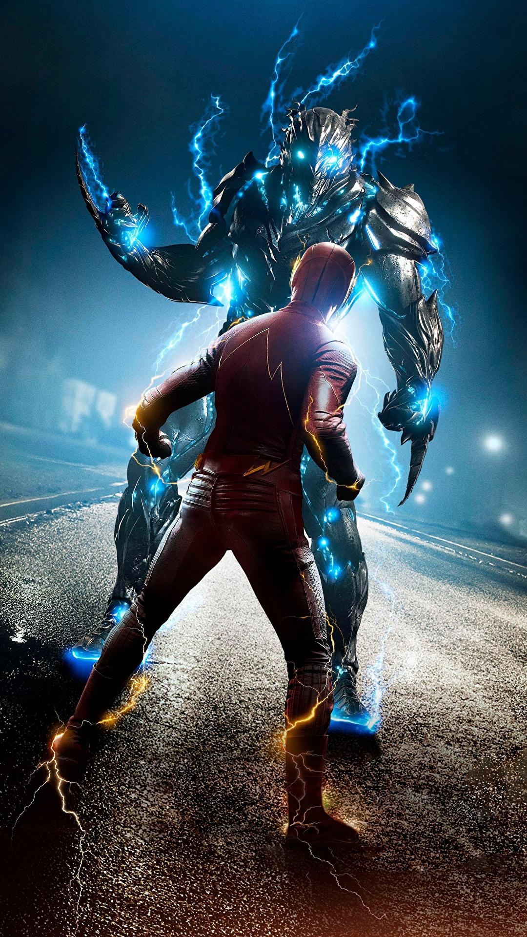 1080x1920 The Flash 2014 Flash Herói Heróis de quadrinhos Barry Allen super-heróis Filme para celular Telemóvel