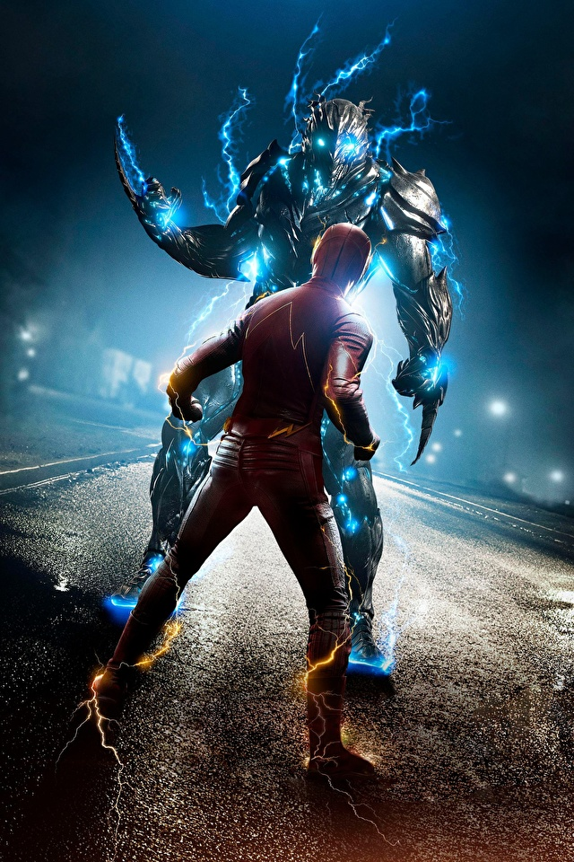 640x960 The Flash 2014 Flash Herói Heróis de quadrinhos Barry Allen super-heróis Filme para celular Telemóvel