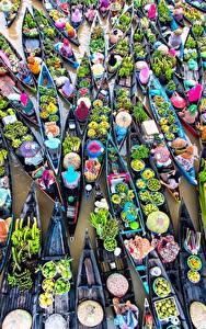 Hintergrundbilder Boot Obst Gemüse Viel Von oben Lebensmittel