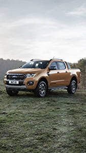Fotos Ford Metallisch Pick-up 2019 Ranger Wildtrak auto