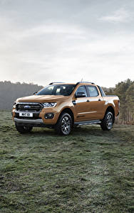Fotos Ford Metallisch Pick-up 2019 Ranger Wildtrak Autos