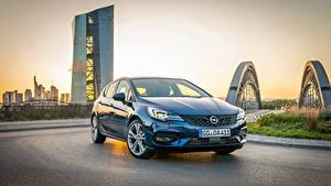 Bilder Opel Hellblau Metallisch 2019-20 Astra Ultimate