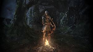 Photo Knight Dark Souls Bonfire Armor Remastered Games