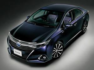 Bilder Toyota Hybrid Autos Blau Sai 2015 Viola Autos