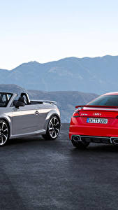 Fotos Audi 2 Metallisch Roadster 2016 TT RS Roadster Autos
