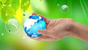 Bilder Erde Hand
