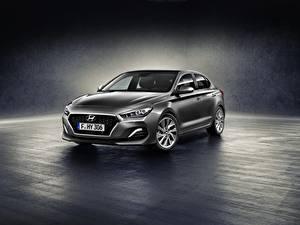 Bilder Hyundai Grau Metallisch i30 Fastback Autos