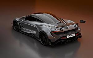 Fotos McLaren Grau Metallisch 2020, 720S, widebody kit, Prior Design Autos