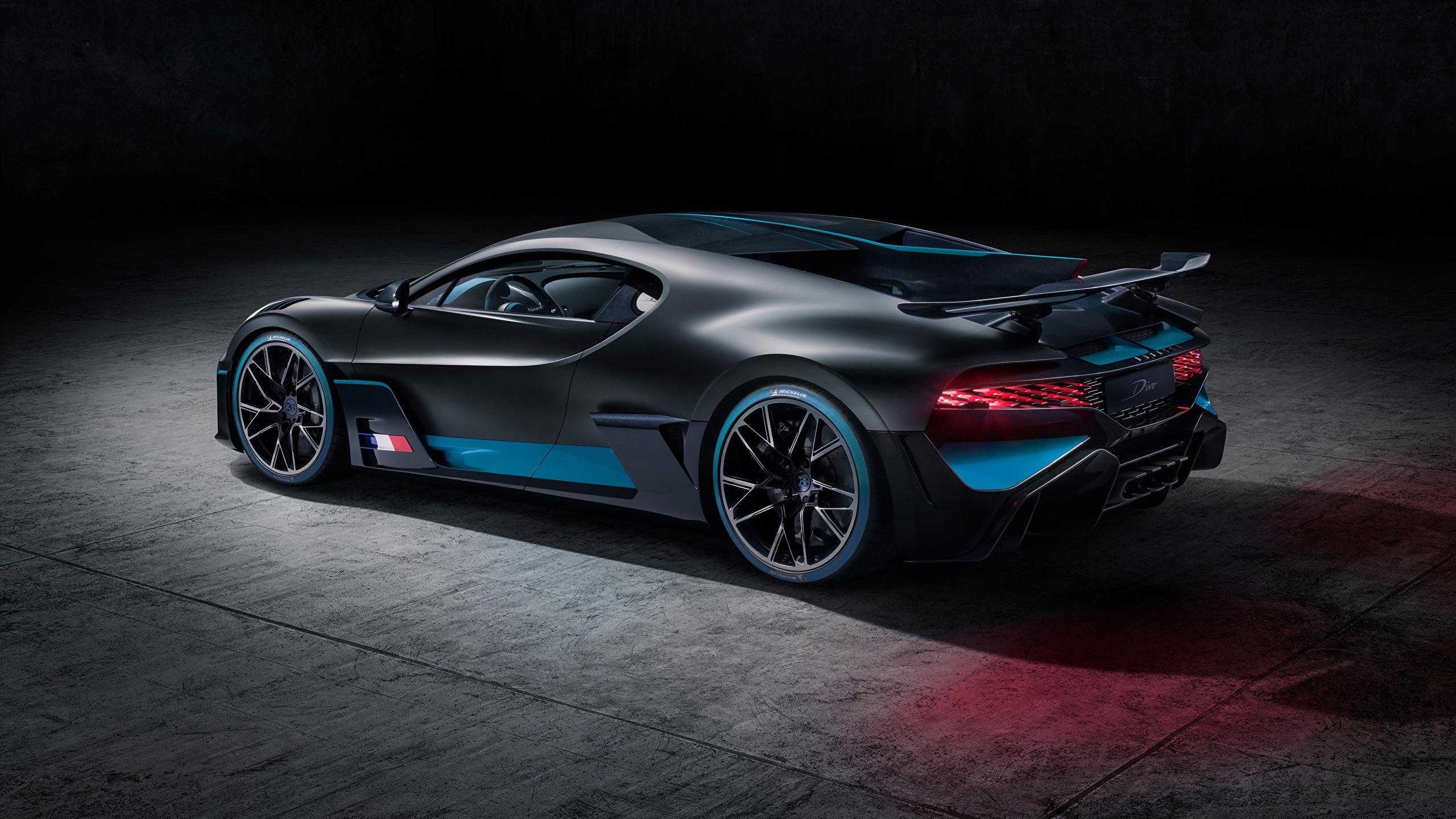 Fonds Decran 2560x1440 Bugatti Divo 2019 Noir Voitures