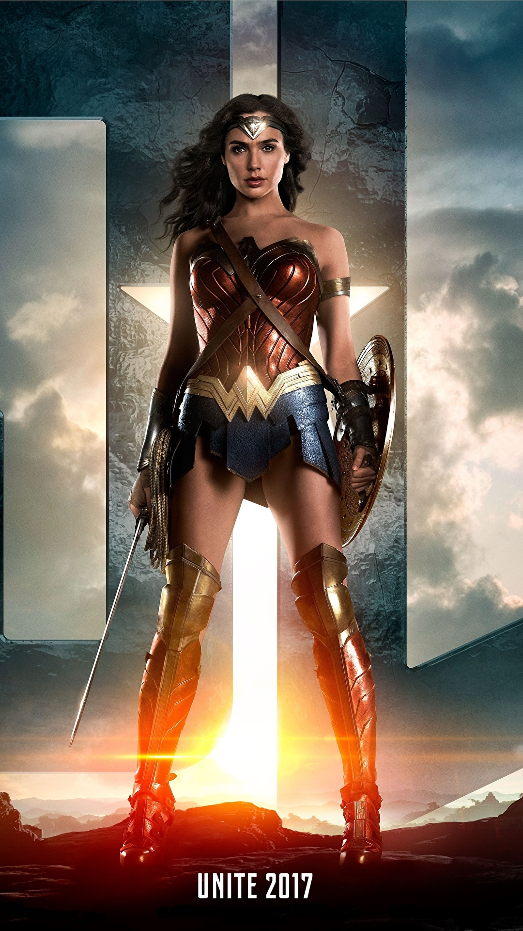 Pictures Wonder Woman 2017 Film Gal Gadot Wonder Woman 1080x1920