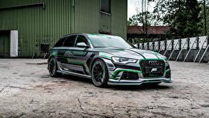 Images Audi Tuning 2018 ABT RS 6-E Avant Concept automobile