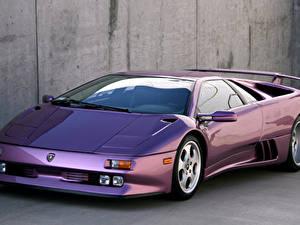Fotos Lamborghini Violett 1994-95 Diablo SE30