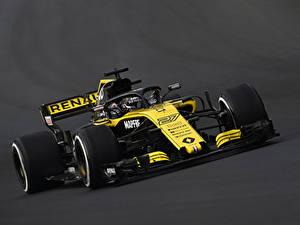 Hintergrundbilder Renault Formula 1 Grauer Hintergrund 2018 R.S.18 Autos Sport