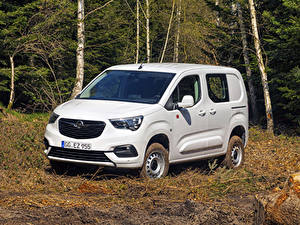 Fotos Opel Ein Van Weiß