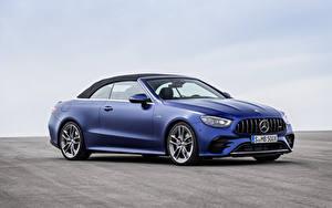 Bilder Mercedes-Benz Blau Metallisch Cabrio E 53 4MATIC, Cabrio Worldwide, A238, 2020