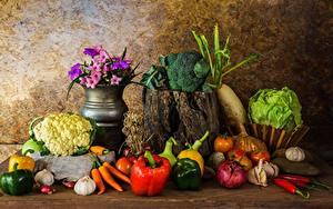 Hintergrundbilder Gemüse Peperone das Essen