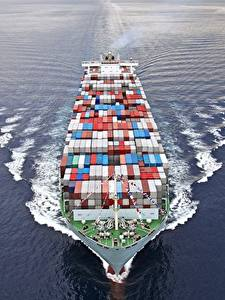 Images Container ship Ships Swimming