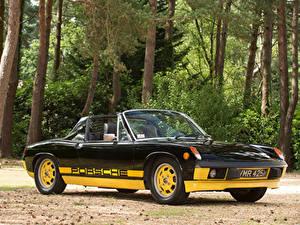 Fotos Retro Porsche Schwarz Metallisch Roadster 1974 914 Limited Edition
