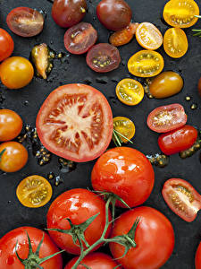 Fotos Tomate Viel Lebensmittel