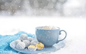 Hintergrundbilder Kekse Tasse Schneeflocken Lebensmittel