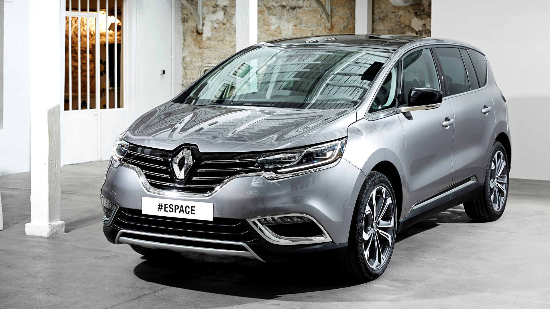 Image Renault 2015 Espace Silver Color Cars 1920x1080