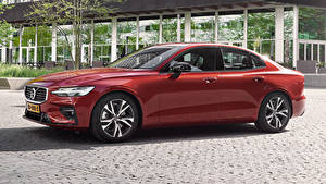 Images Volvo Wine color Metallic 2018-19 S60 T5 R-Design Worldwide automobile