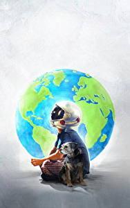 Fotos Hunde Wunder 2017 Junge Helm Jacob Tremblay Film