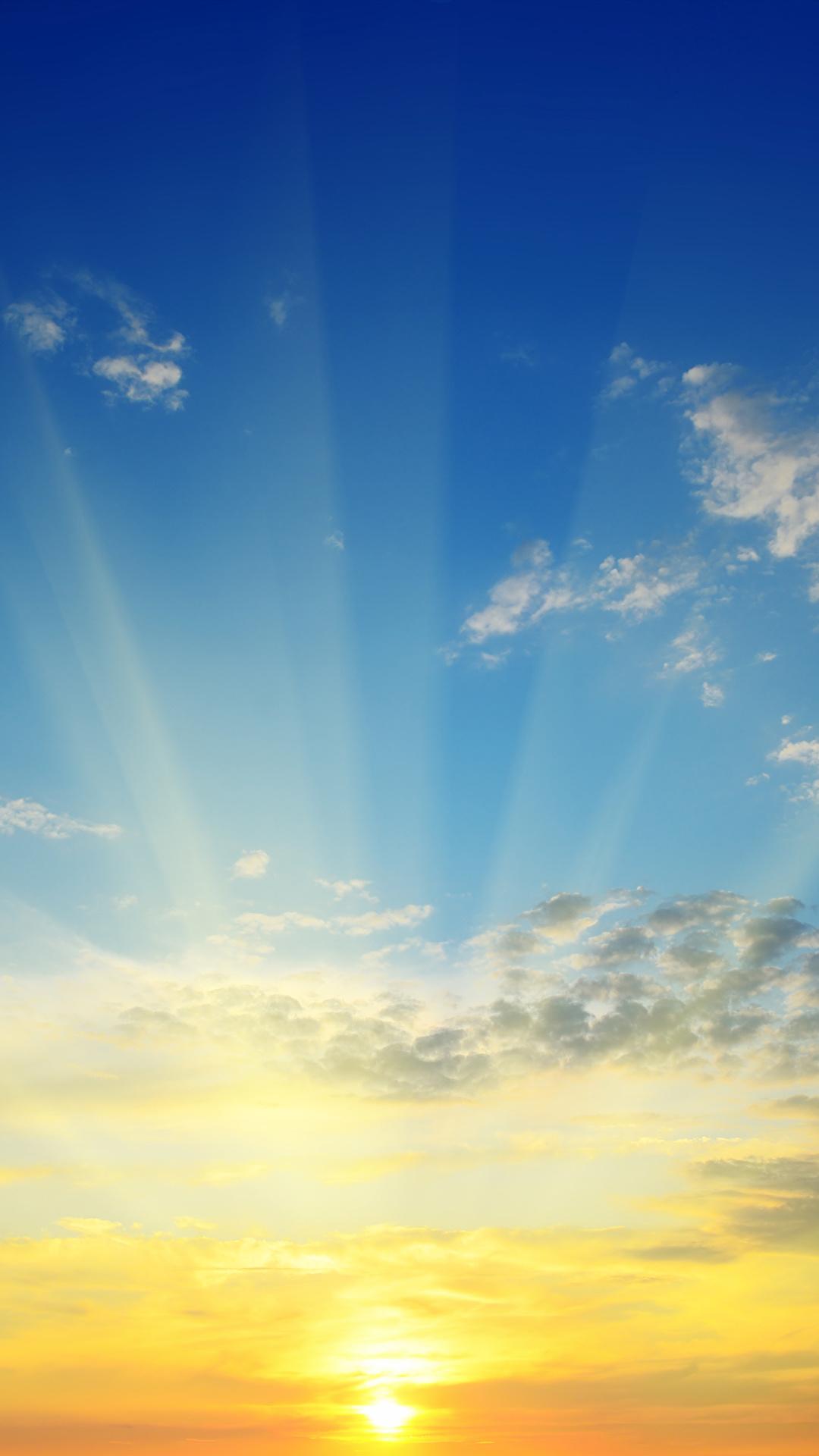 Bilder von Lichtstrahl Natur Sonne Himmel Sonnenaufgänge und Sonnenuntergänge Wolke 1080x1920