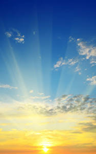 Fondos de Pantalla Amaneceres y atardeceres Cielo Nube Sol Rayos de luz