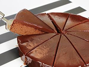 Bilder Torte Schokolade Stück