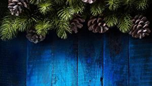 Bilder Neujahr Zapfen Bretter Ast